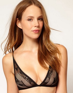 Image 1 ofCalvin Klein Envy Lace Triangle Bra