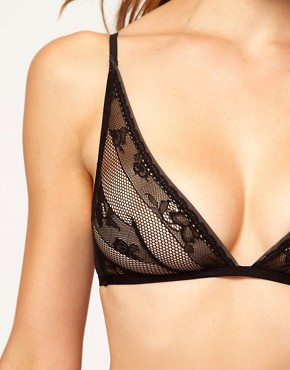 Image 3 ofCalvin Klein Envy Lace Triangle Bra