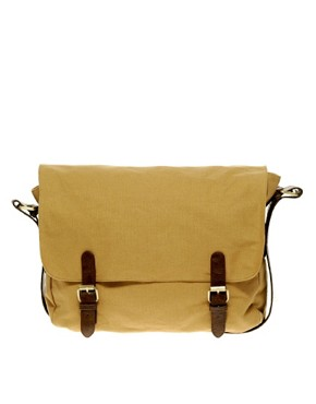 Image 2 ofASOS Canvas Satchel