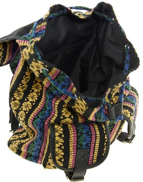 Image 2 ofASOS Ikat Backpack