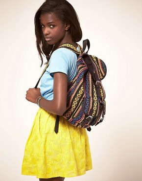 Image 3 ofASOS Ikat Backpack