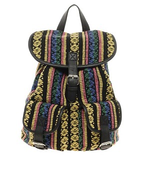 Image 1 ofASOS Ikat Backpack