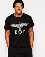 BOY London - T-shirt con aquila