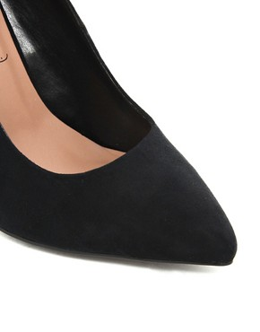Image 4 ofNew Look Ride Classic Pointed Court Shoes