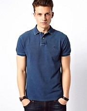 Polo Ralph Lauren Polo Shirt In Denim Style Fabric