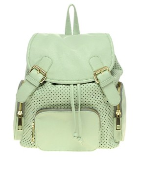 Image 1 ofASOS Punchout Backpack