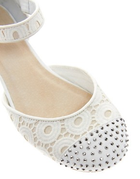 Image 2 ofASOS LEAH Ballet Flats