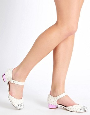 Image 3 ofASOS LEAH Ballet Flats