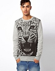 BePriv Sweat Crew Neck Dangerous Exclusive To ASOS UK
