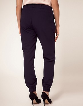 Image 2 ofASOS CURVE Trouser With Elastic Cuff