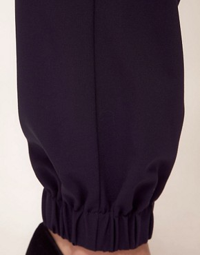 Image 3 ofASOS CURVE Trouser With Elastic Cuff