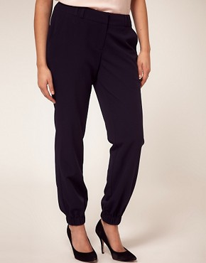 Image 4 ofASOS CURVE Trouser With Elastic Cuff