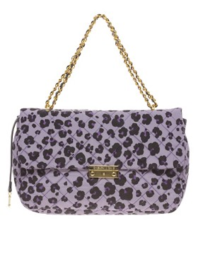 Image 1 ofMoschino Cheap &amp; Chic Leather Animal Print Bag