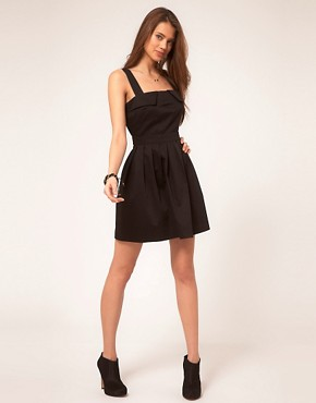 Image 4 ofASOS Skater Dress with Cut Out Back