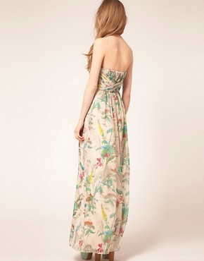Image 2 ofTed Baker Maxi Dress In Paradise Brid Print