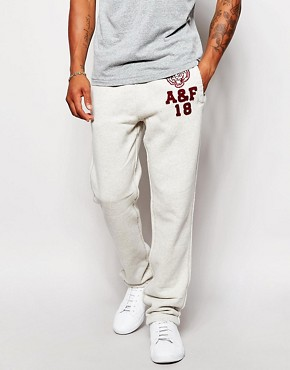 Abercrombie & Fitch Jogger with Tiger Applique