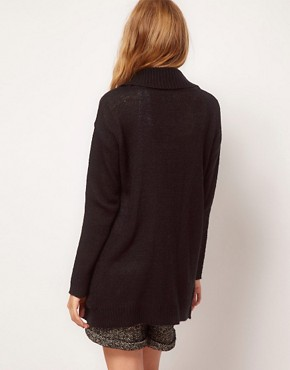 Image 2 ofASOS Slouchy Cardigan With Pockets