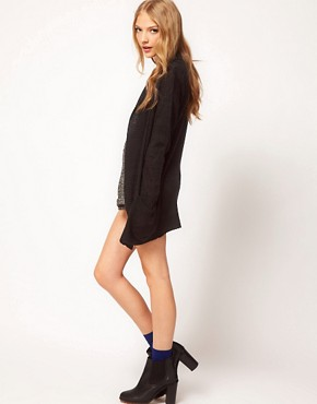 Image 4 ofASOS Slouchy Cardigan With Pockets