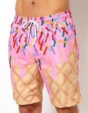 Pa:Nuu Waffle Swim Short