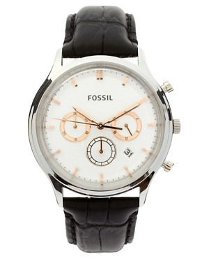 Image 1 ofFossil Heritage Leather Strap Watch