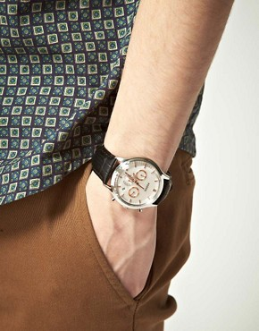 Image 3 ofFossil Heritage Leather Strap Watch