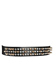 ASOS Spike &amp; Gem Skinny Waist Belt