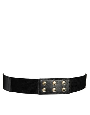 Image 3 ofASOS Spike &amp; Gem Skinny Waist Belt