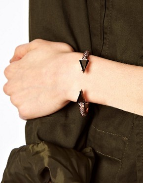 Image 3 ofASOS Spike Torque Bracelet