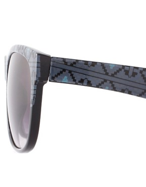 Image 4 ofASOS Aztec Print Sunglasses