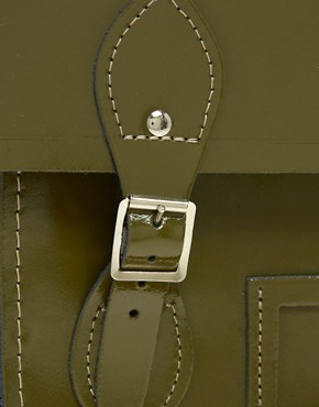 Image 4 ofCambridge Satchel Company Exclusive to Asos 15&quot; Leather Batchel