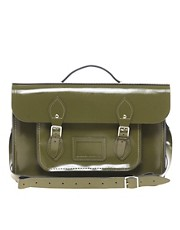 Satchel de 15&quot; de cuero exclusivo para ASOS de Cambridge Satchel Company
