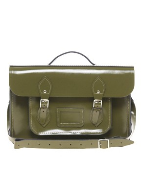 Image 1 ofCambridge Satchel Company Exclusive to Asos 15&quot; Leather Batchel