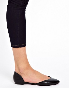 Image 3 ofASOS LIBERTY Pointed Ballet Flats