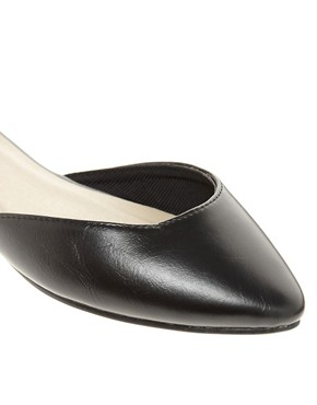 Image 4 ofASOS LIBERTY Pointed Ballet Flats