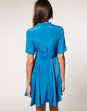 Image 2 ofVero Moda 50 s Swing Shirt Dress