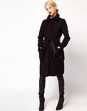 ASOS Oversized Pocket Belted Coat