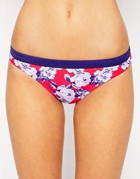 New Look Kelly Brook Floral Bikini Bottom