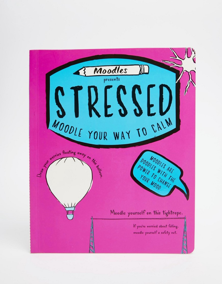 Moodles Presents Stressed Book - Multi