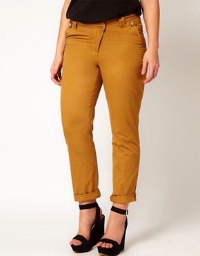 Image 4 ofASOS CURVE Exclusive Chino
