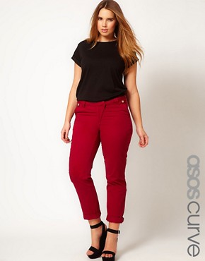 Image 1 ofASOS CURVE Exclusive Chino