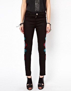 Image 4 ofFreak Of Nature Jeans In Navajo A Go Go Embroidery