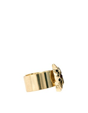 Image 4 ofASOS Multipack Panther Band Rings