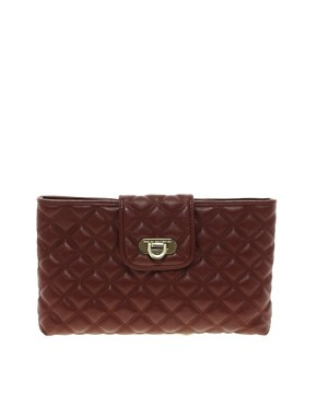 Image 1 ofFrench Connection Oxford Quilted Clutch Bag