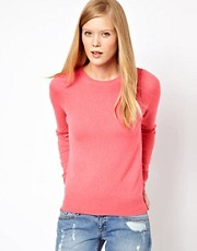 Equipment Sloane Crew Neck Cashmere Jumper in Watermelon