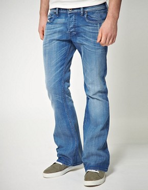 Image 1 ofDiesel Zathan Bootcut Jeans