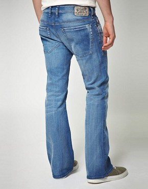 Image 2 ofDiesel Zathan Bootcut Jeans