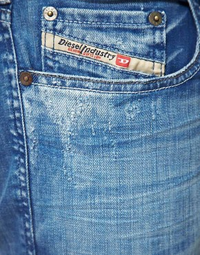 Image 3 ofDiesel Zathan Bootcut Jeans