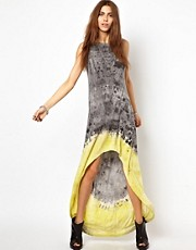 Religion Tie Dye Maxi Dress Exclusive To Asos