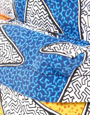 Image 4 of ASOS Backpack With All Over Print