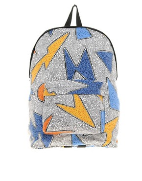 Image 1 of ASOS Backpack With All Over Print
